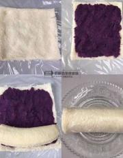 香蕉紫薯减脂餐香蕉紫薯卷