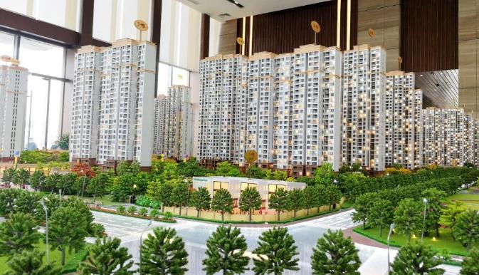 【看】中法新城年底完成安置房5000套,蔡甸人将搬入还建房